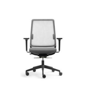 silla oficina sense black